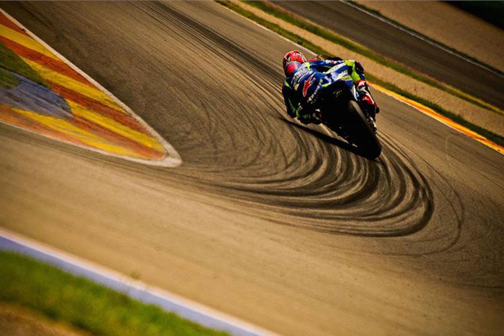 Dos días de test de Suzuki en Valencia