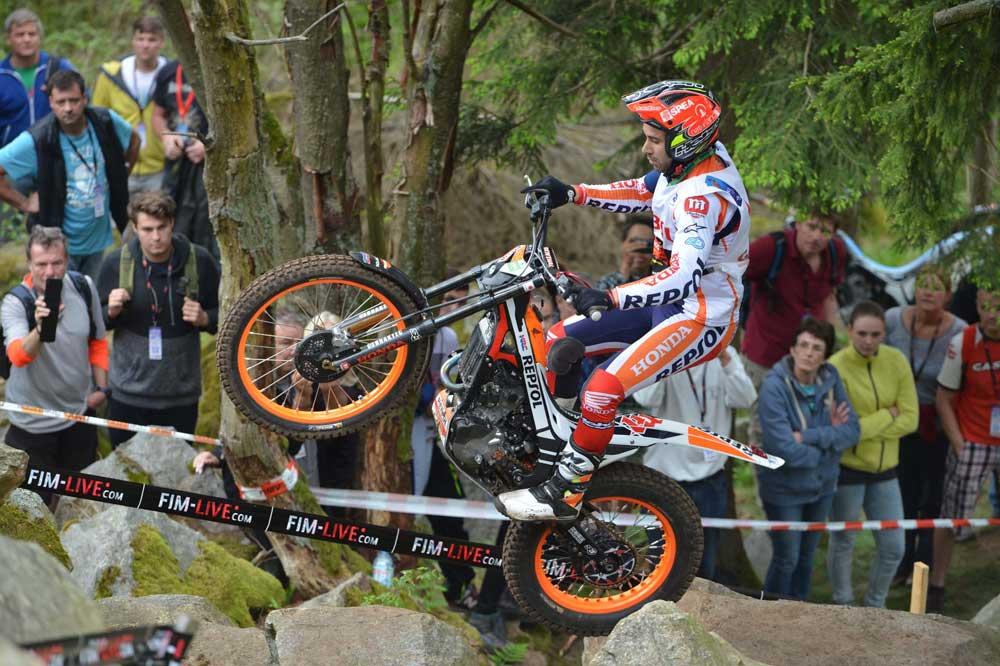 Doblete de Toni Bou en Alemania en el Campeonato del Mundo de Trial