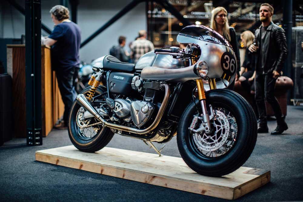 Triumph presenta la primera customización de la Thruxton R