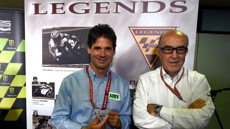 Álex Crivillé es nombrado Leyenda de MotoGP
