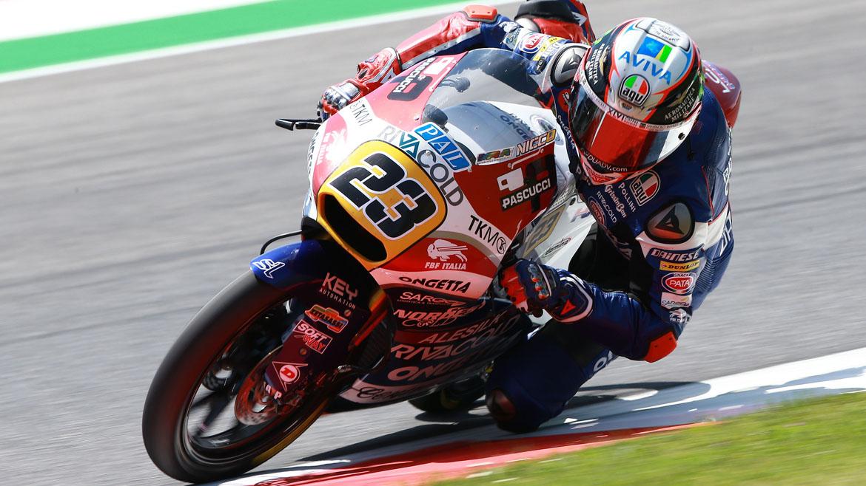 Niccoló Antonelli brilla en la primera jornada del GP de Cataluña