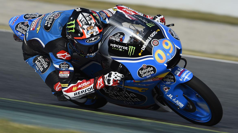 Jorge Navarro se estrena y termina con la sequía española en Moto3