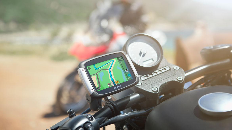 El nuevo navegador TomTom Rider 410 incluye todos los mapas del mundo