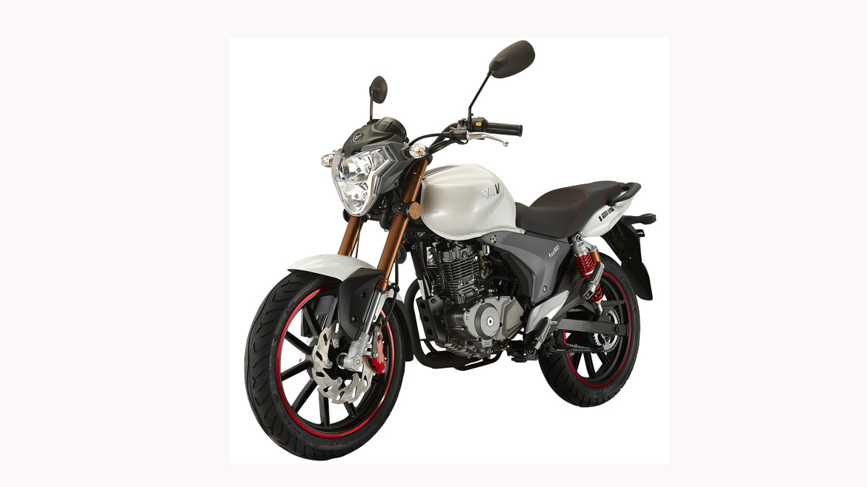 Keeway RKV 125, una moto naked para el carnet A y A2