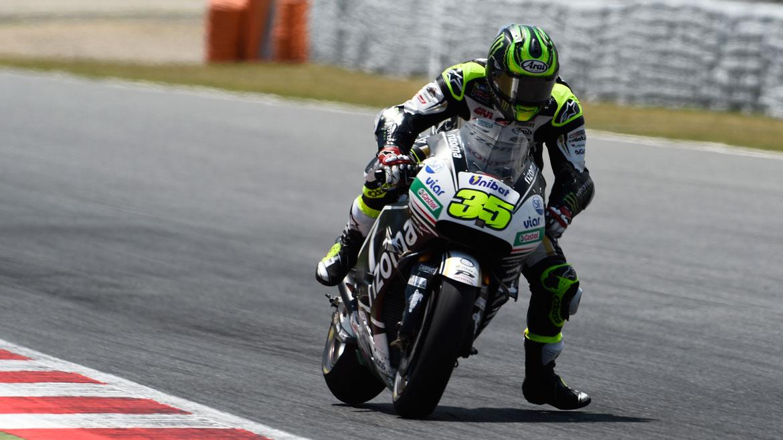 Cal Crutchlow, mejor tiempo en los test de MotoGP en Montmeló