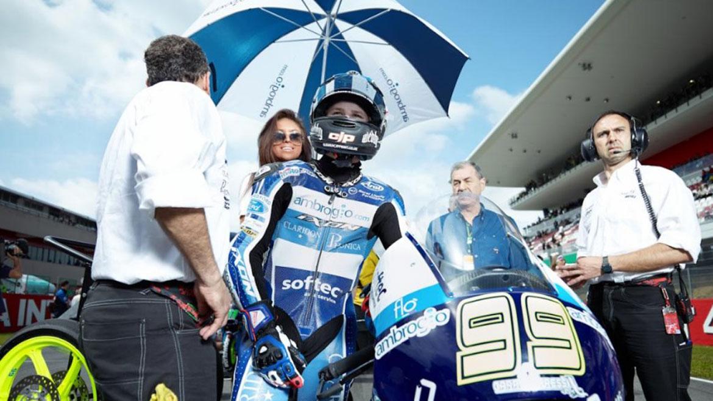 Danny Webb, sustituto de Karel Hanika en el Mundial de Moto3