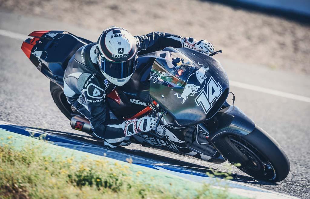 KTM prueba su MotoGP en Jerez