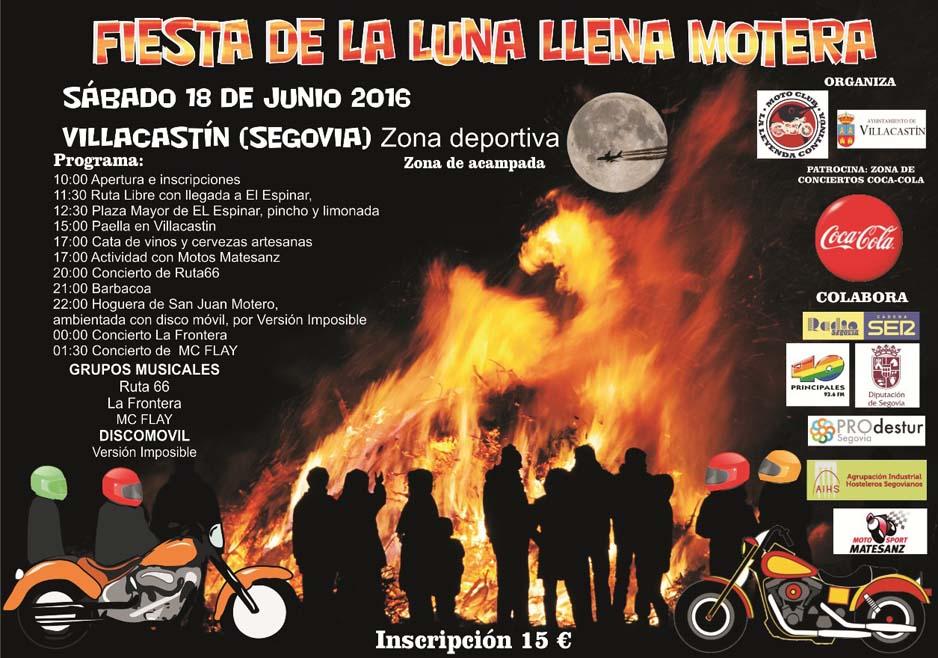 Fiesta de la Luna Llena Motera en Segovia