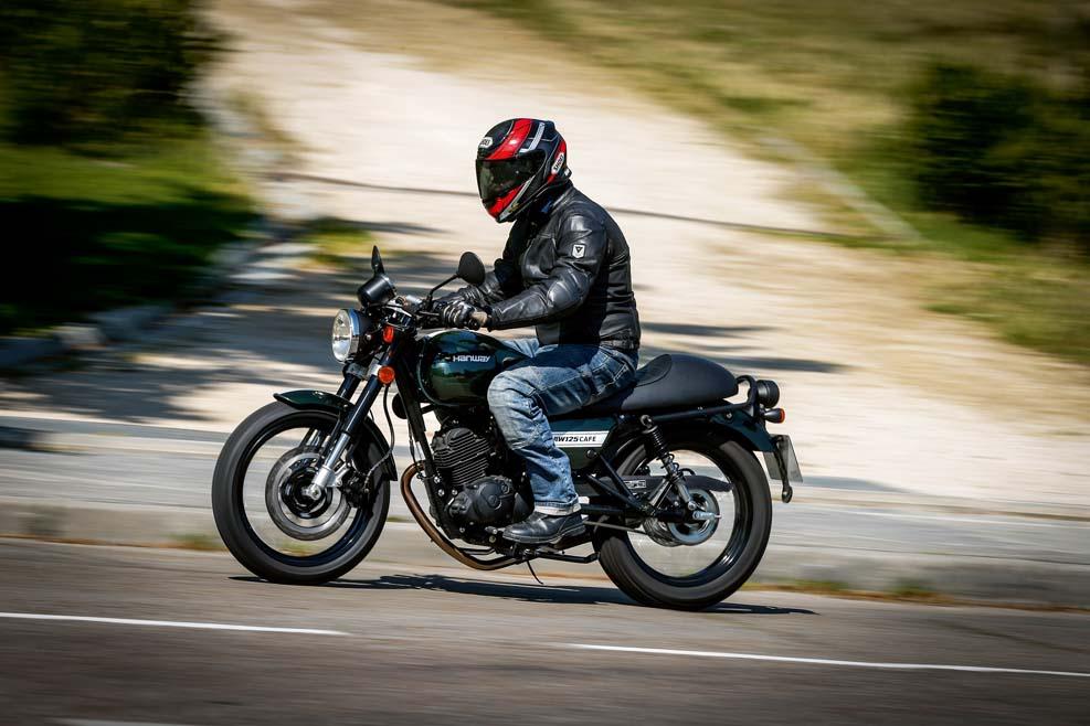 "Hanway 125 Café Racer: tu primera moto ""customizada"""
