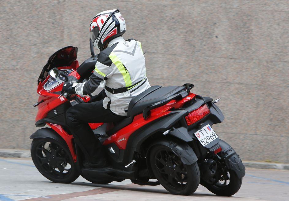 Quadro4, la moto de cuatro ruedas