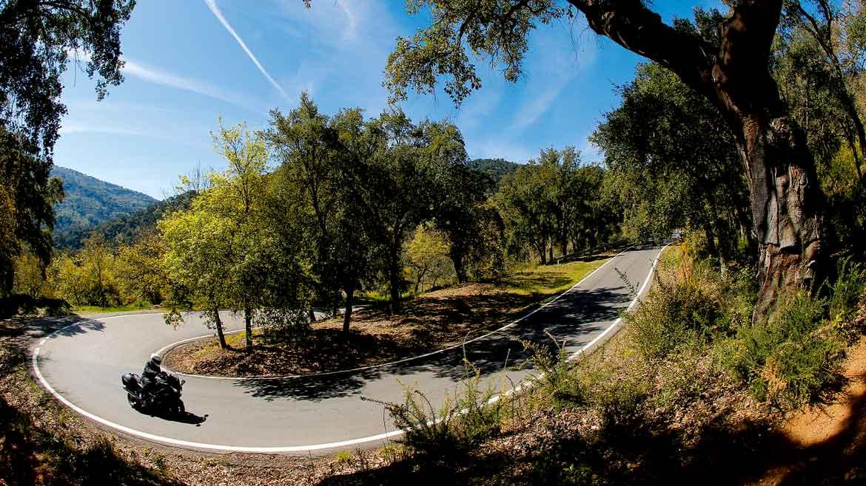 Ruta en moto por la Sierra de Ronda y Marbella
