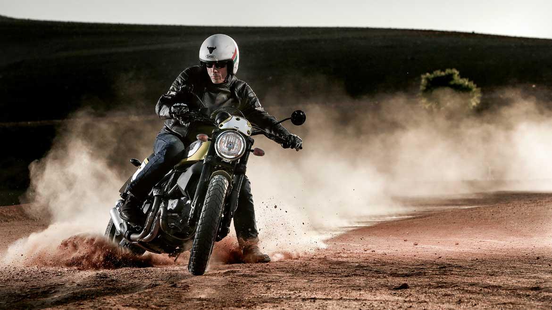 Ducati Scrambler Flat Track Pro, la moto de Troy Bayliss