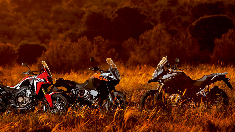 Las motos trail, protagonistas