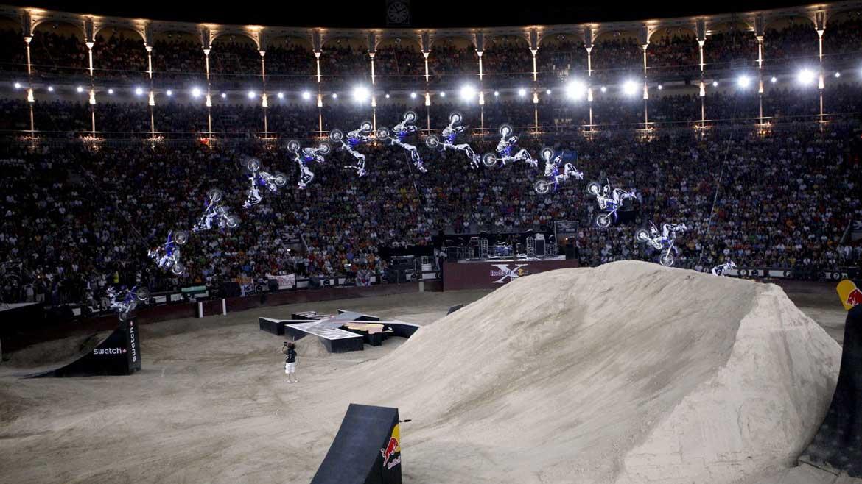 El Red Bull X-Fighters, este viernes en Las Ventas