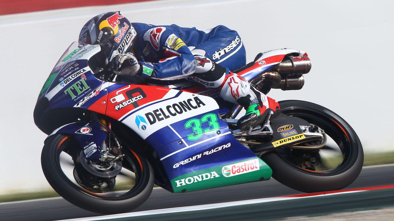 Enea Bastiaini domina los primeros libres de Moto3 en Assen