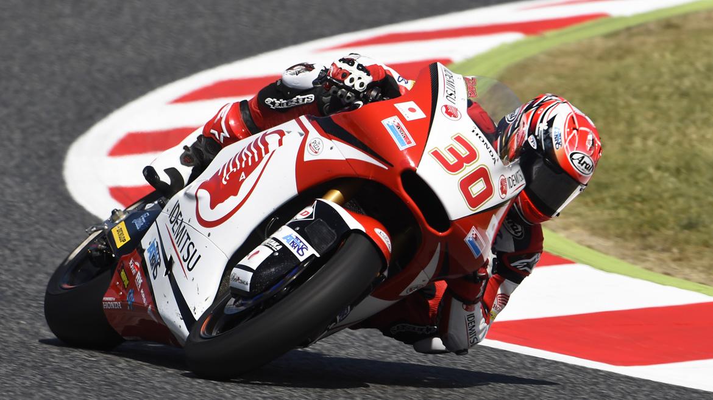 Takaaki Nakagami lidera el FP1 de Moto2