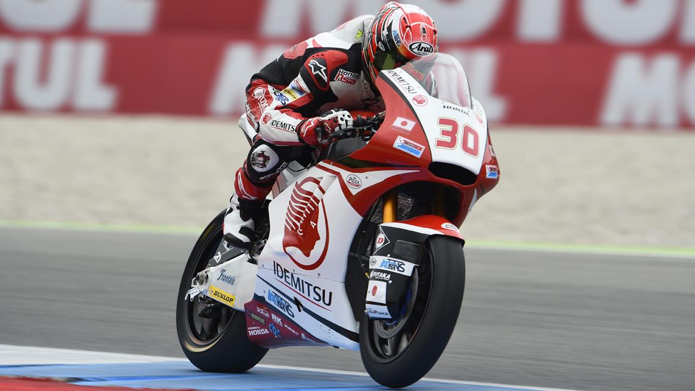 Takaaki Nakagami se estrena en Assen; Alex Rins pierde el liderato de Moto2