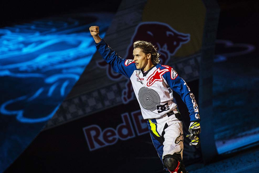 Tom Pagès vence por cuarta vez consecutiva en el Red Bull X-Fighters