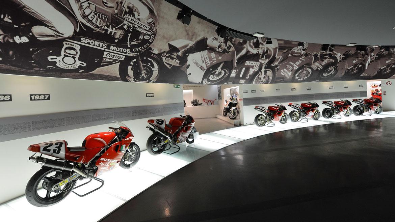 Ducati presentará su nuevo museo durante la World Ducati Week