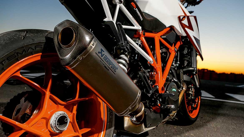 KTM Super Duke: evolución de la maxinaked