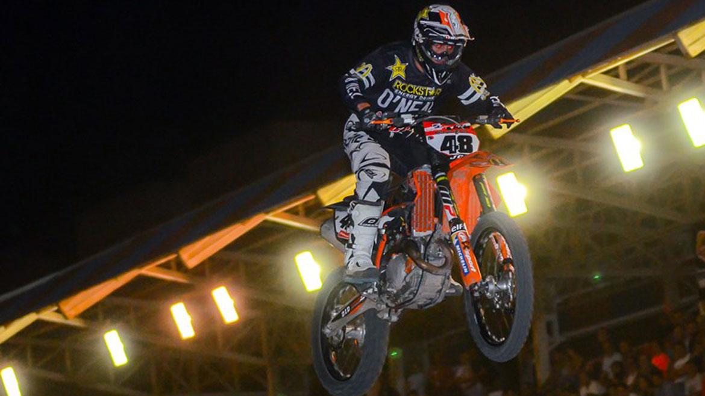 Joan Cros vence en la primera prueba del Nacional de Supercross