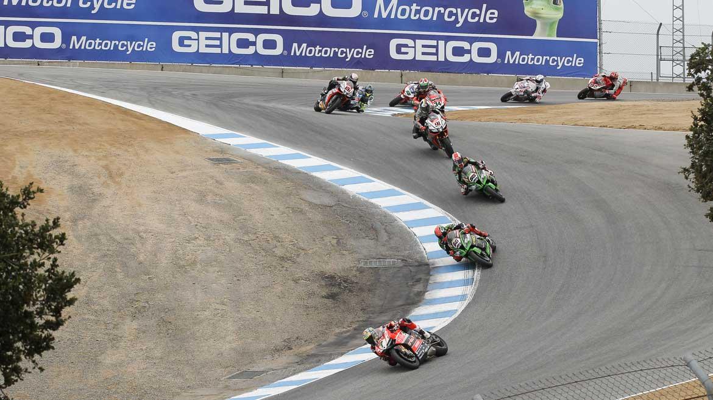 Horarios del Mundial de Superbike en Laguna Seca