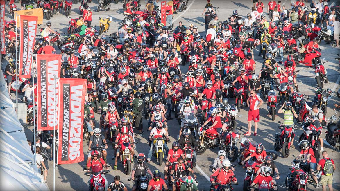 World Ducati Week 2016. La gran concentración de los ducatistas.