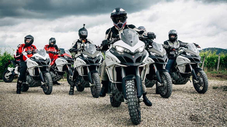 """Los """"Siete Trotamundos"""" de Ducati para la Globetrotter 90ª Aniversario"""