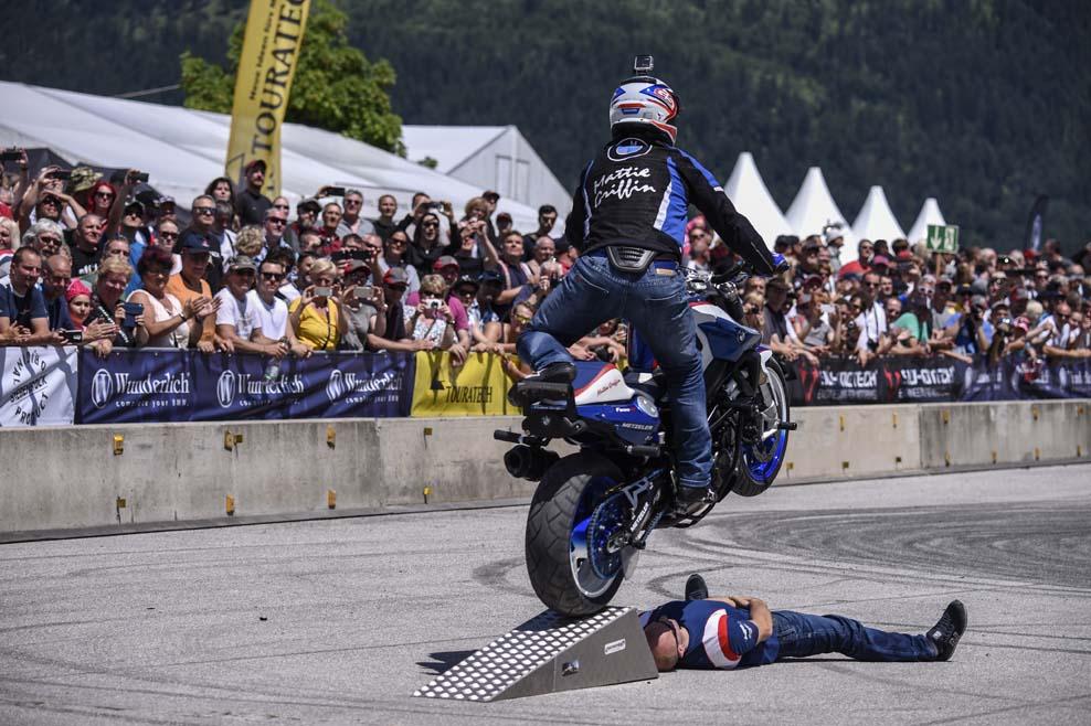 Más de 35.000 aficionados acuden a los BMW Motorrad Days