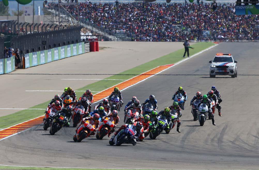 Entradas para el GP de Aragón 2016 con MOTOCICLISMO