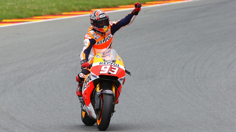 Las seis victorias de Marc Márquez en Sachsenring