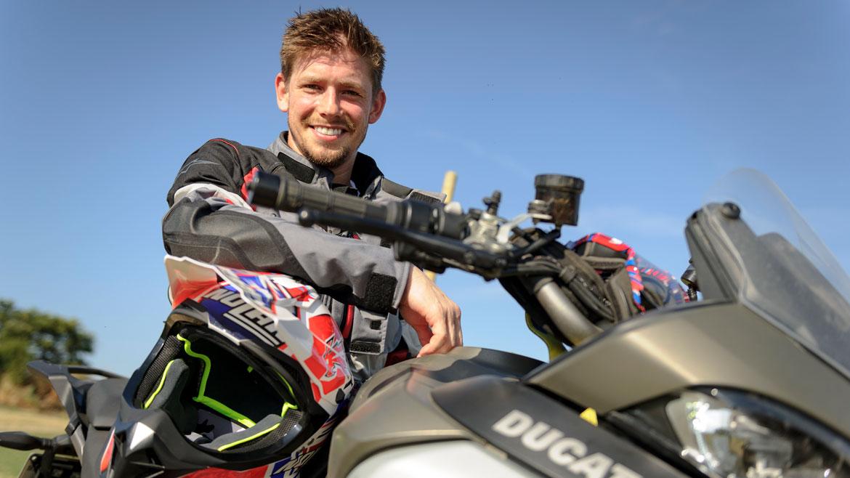 Casey Stoner cuenta su experiencia en el curso off road de Ducati
