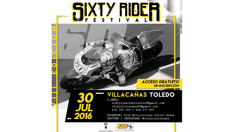 El Sixty Rider Festival 2016, el 30 de julio en Villacañas