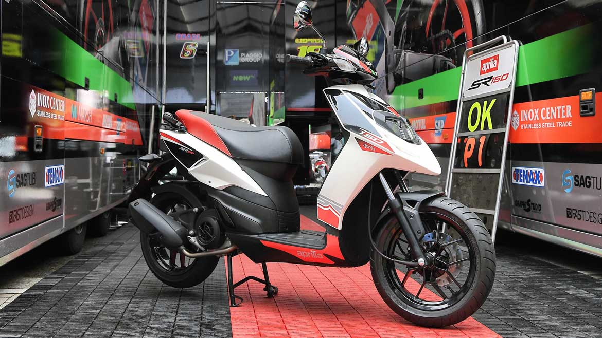 Aprilia llega al mercado del scooter de la India