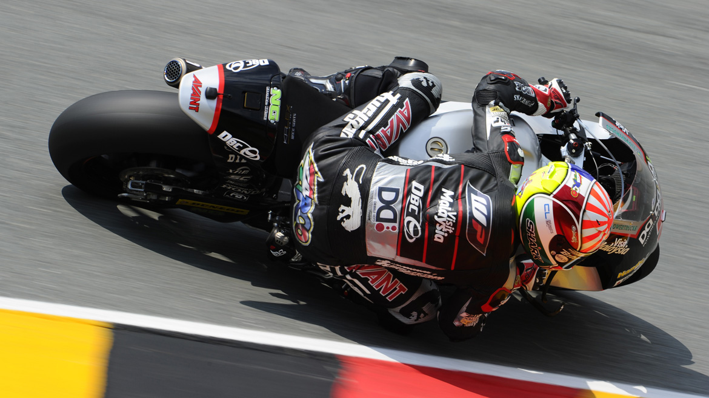 Johann Zarco gana en Alemania y es más líder de Moto2