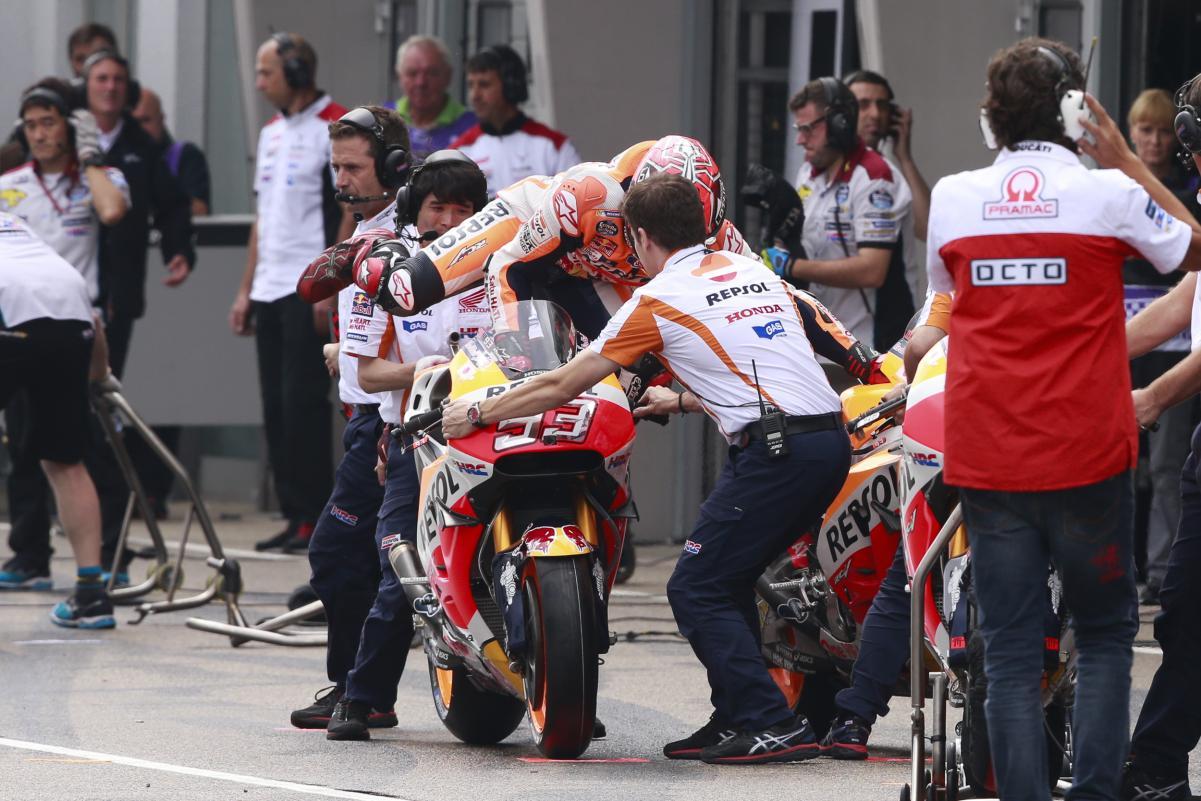 El cambio de moto de Marc Márquez, completamente legal