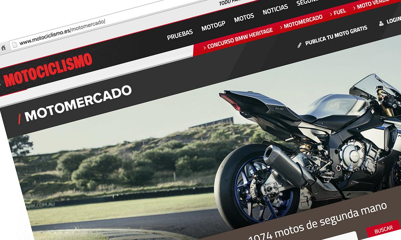 ¿Buscas o vendes tu moto? En Motociclismo es gratis