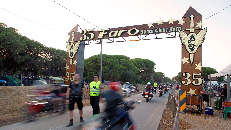 La concentración motera de Faro celebró su 35 edición