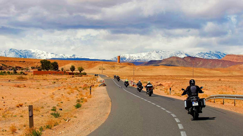 Recorre Marruecos en moto con OrganizaDOS