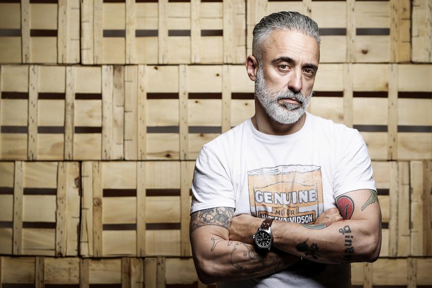 Entrevista con Sergi Arola, cocina, motos y rock & roll