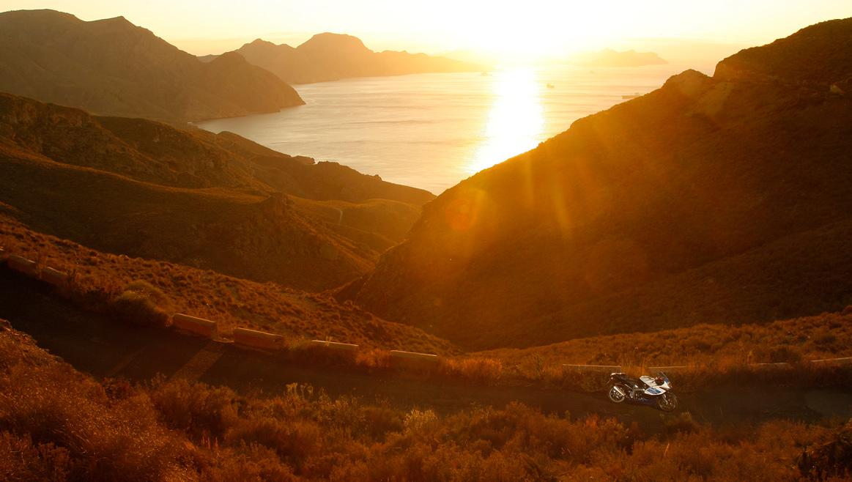 Rutas en moto por la costa de España