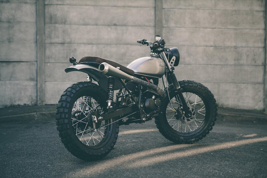 Suzuki Van Van Grimpeur por Forged Motorcycles, sensaciones a pequeña escala