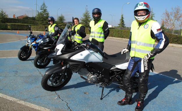 Cursos de conducción segura con Suzuki y el RACC