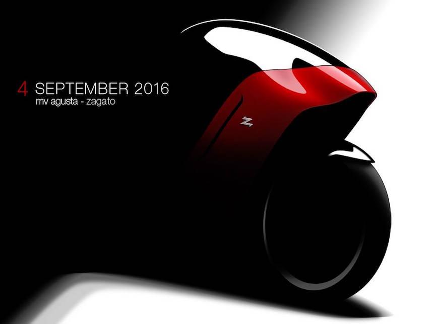 MV Agusta y Zagato presentarán en septiembre su misteriosa nueva moto