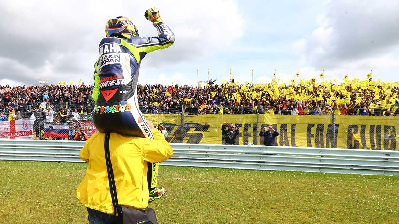 Valentino Rossi, 20 años de victorias
