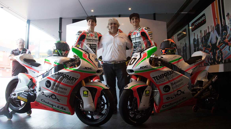 Luca Marini y Lorenzo Baldassarri seguirán en el Forward Racing en 2017