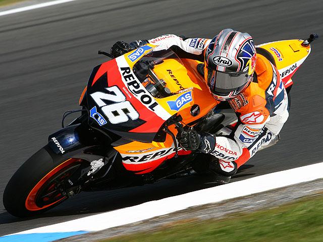 Pedrosa logra la Pole en MotoGP