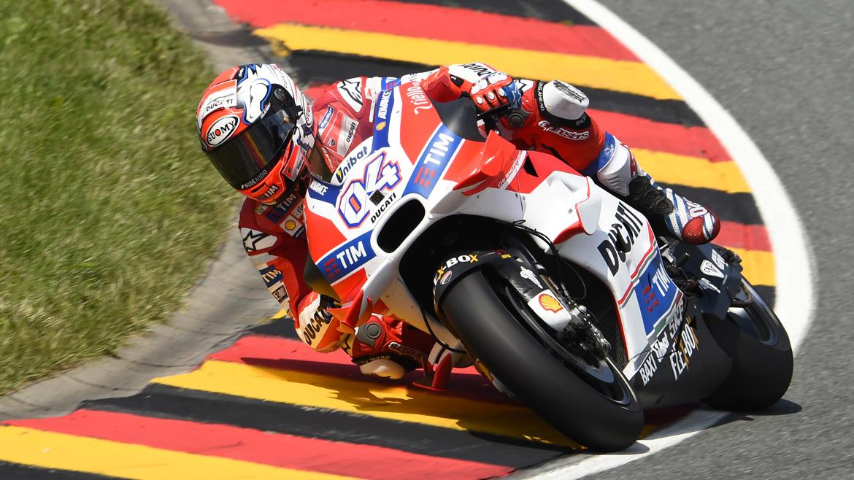 Las Ducati arrasan en la jornada inaugural del GP de Austria