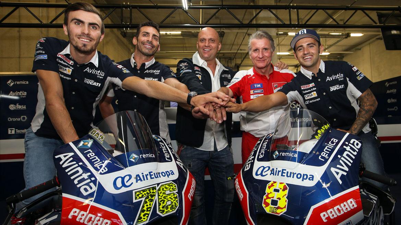 Avintia Racing renueva a Héctor Barberá y a Loris Baz hasta 2017