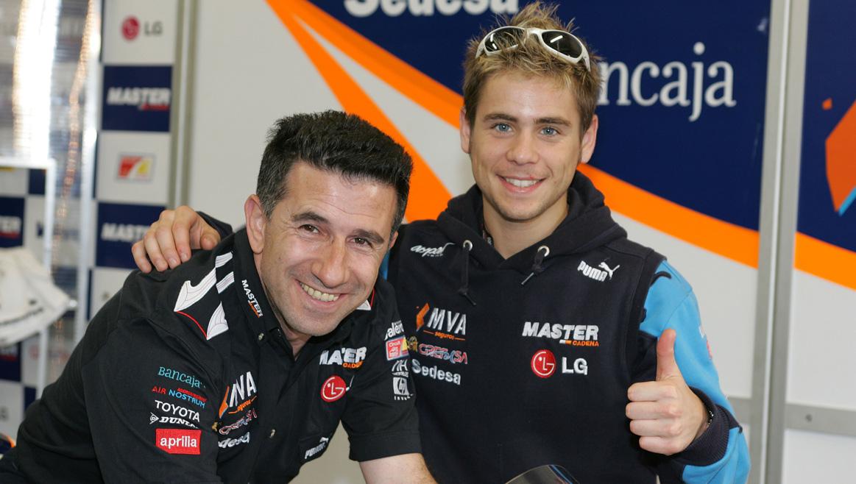 Álvaro Bautista y el Aspar Team, juntos de nuevo en 2017
